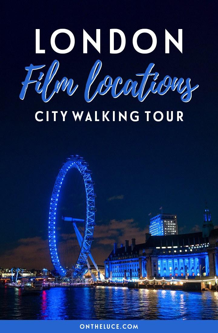 A London film locations self-guided city walking tour, featuring locations from iconic films like Mary Poppins, Harry Potter, Bridget Jones' Diary and Notting Hill #film #London #VisitLondon #England