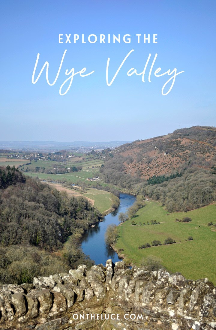Things to do in the Wye Valley, with historic buildings, viewpoints, heritage attractions and delicious food and drink on the border between England and Wales #WyeValley #England #Wales