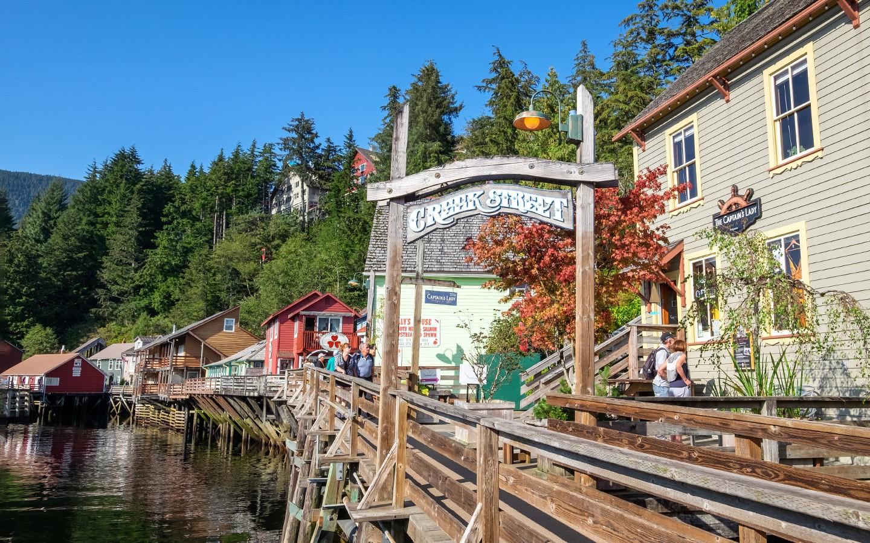 Exploring Alaska's quirky side at Creek Street Ketchikan