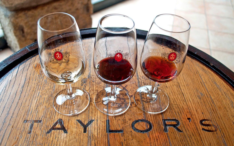 Port tasting at Taylor's in Vila Nova de Gaia, Porto