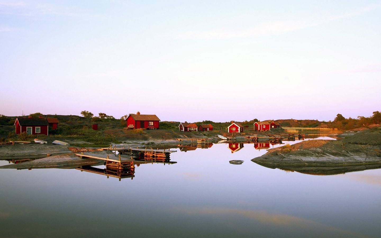 Island in the Stockholm archipelago off Stockholm