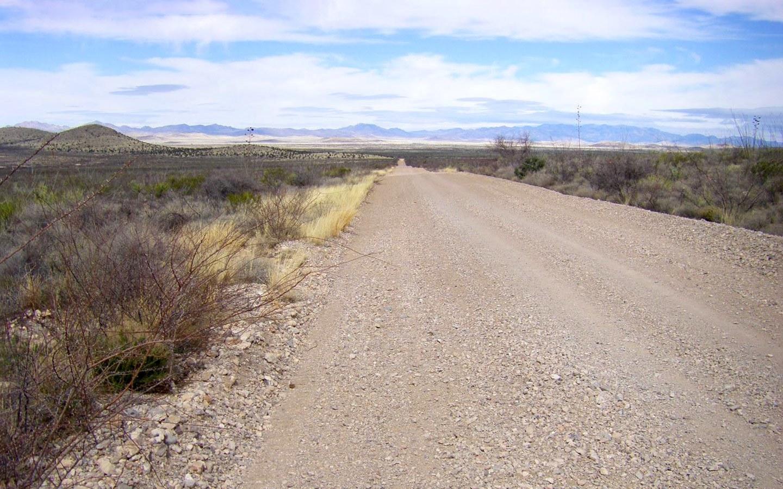 The Geronimo Trail southwest USA scenic drive in Arizona