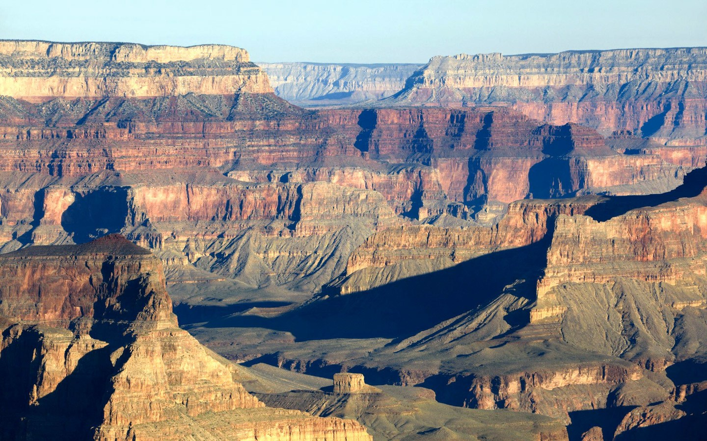 The Grand Canyon South Rim from the Desert View Drive