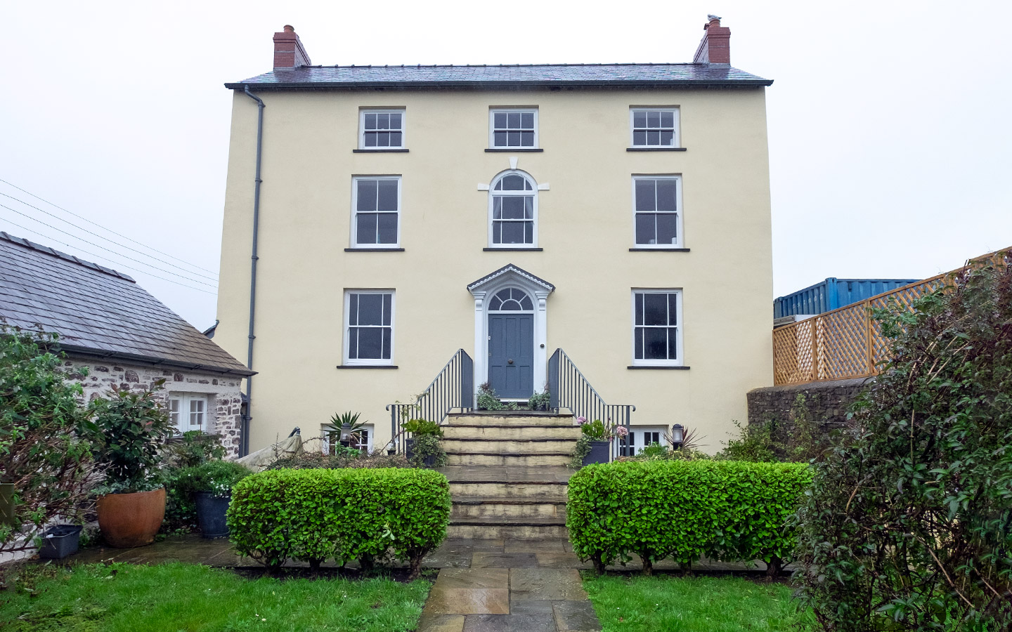 Seaview – Dylan Thomas' house for rent in Laugharne, South Wales