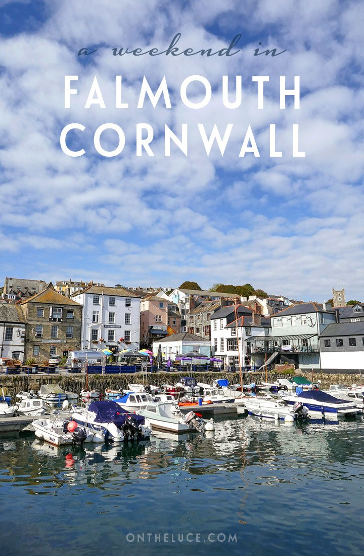 How to spend a weekend in Falmouth in Cornwall, England, with what to see, do and eat in a 48-hour itinerary featuring sandy beaches, boat trips, coast walks, historic castles and tasty local seafood | Weekend in Falmouth | Things to do in Falmouth Cornwall | Falmouth itinerary | Things to do in Cornwall