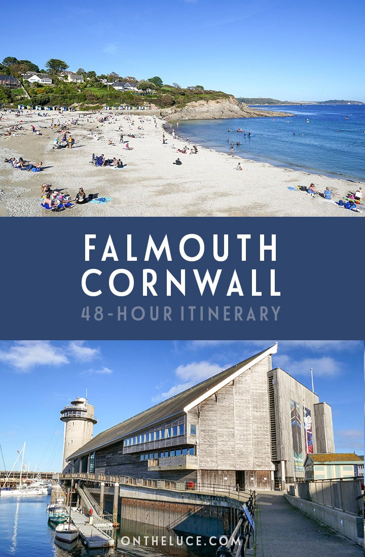 Things to do in Falmouth, Cornwall – a 48-itinerary for spending a weekend in Falmouth, with what to see, do and eat including sandy beaches, boat trips, coast walks, historic castles and tasty local seafood | Weekend in Falmouth | Things to do in Falmouth Cornwall | Falmouth itinerary | Things to do in Cornwall