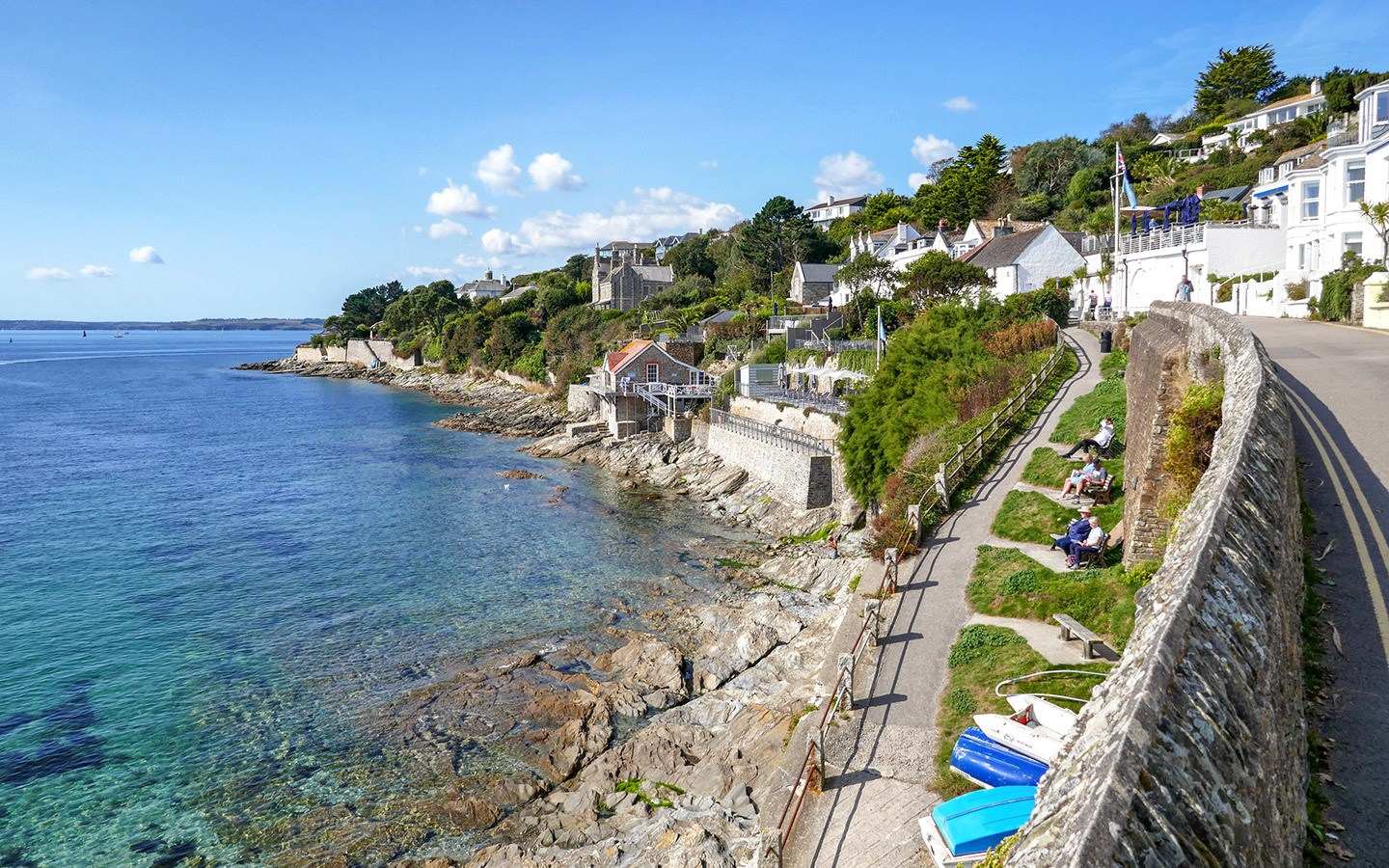 St Mawes near Falmouth in Cornwall
