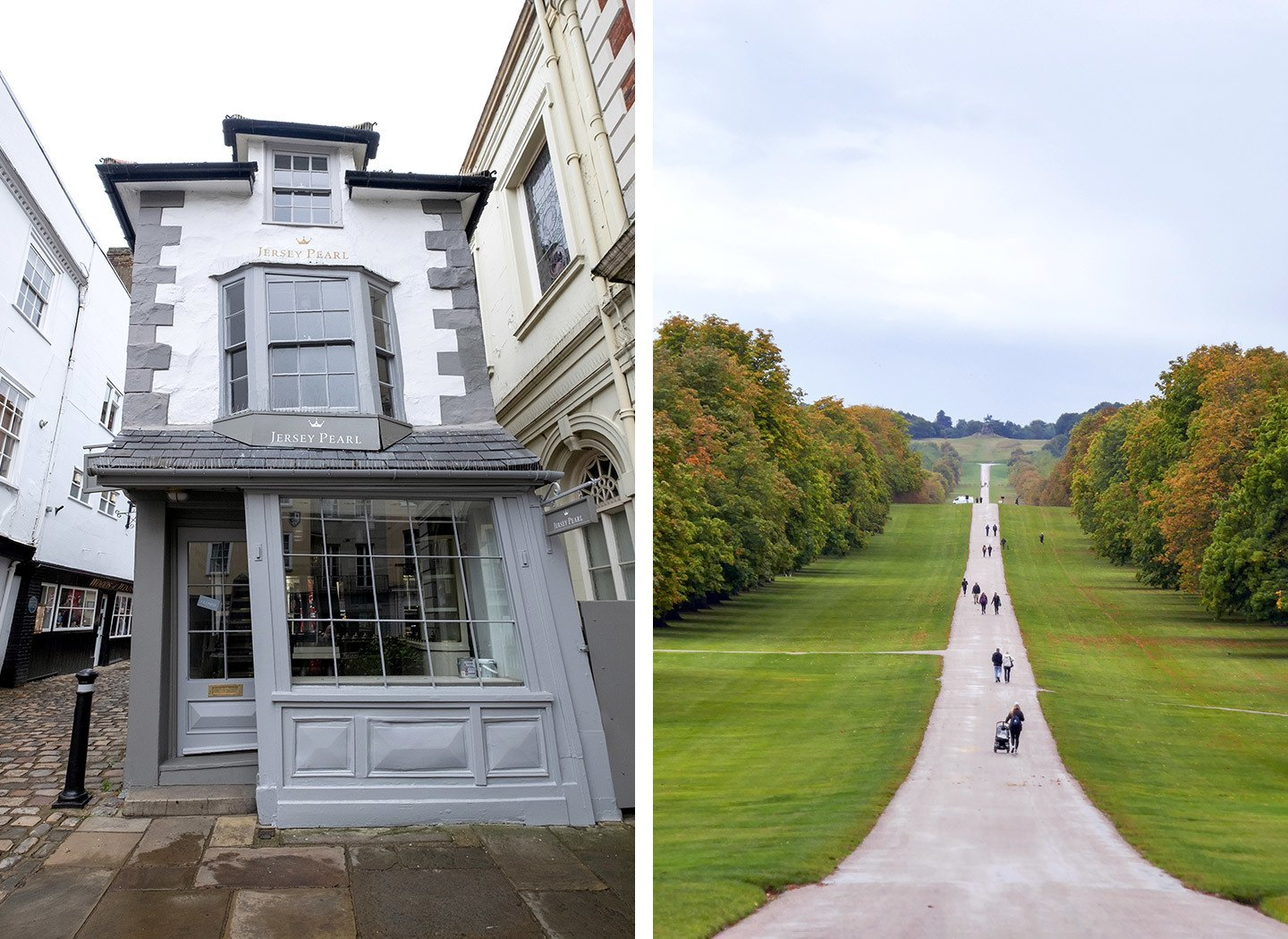 A quirky crooked house and the Long Walk in Windsor Great Park