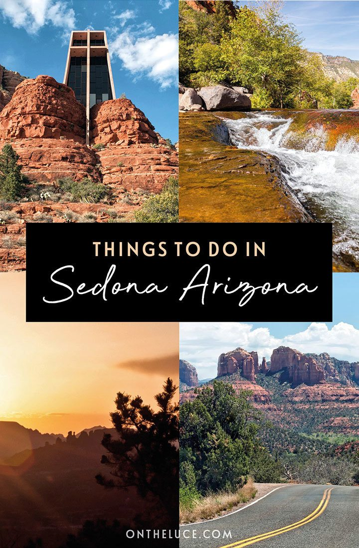 Things to do in Sedona, Arizona: A 48-hour itinerary for visiting this beautiful southwest USA town, with its red rock landscapes, great hiking and biking, delicious food and wine, and 300 days of sunshine, including what to do, where to stay, how to get there and when to visit | Weekend in Sedona | Things to do in Sedona Arizona | Southwest USA | Sedona travel guide