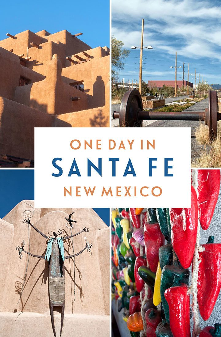 Things to do in Santa Fe, New Mexico – a one-day itinerary for visiting the 'city different' featuring art and architecture, history and culture, food and drink   Things to do in Santa Fe   Santa Fe itinerary   Santa Fe New Mexico   Southwest USA