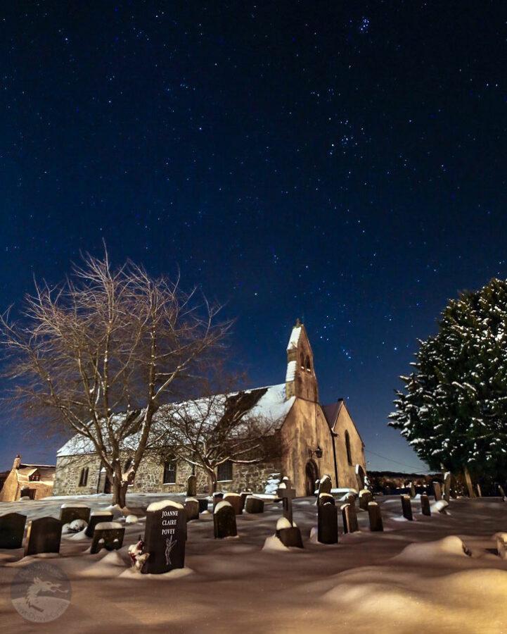 Dark Sky Stargazing at Capel y Ffin Churchyard in Wales