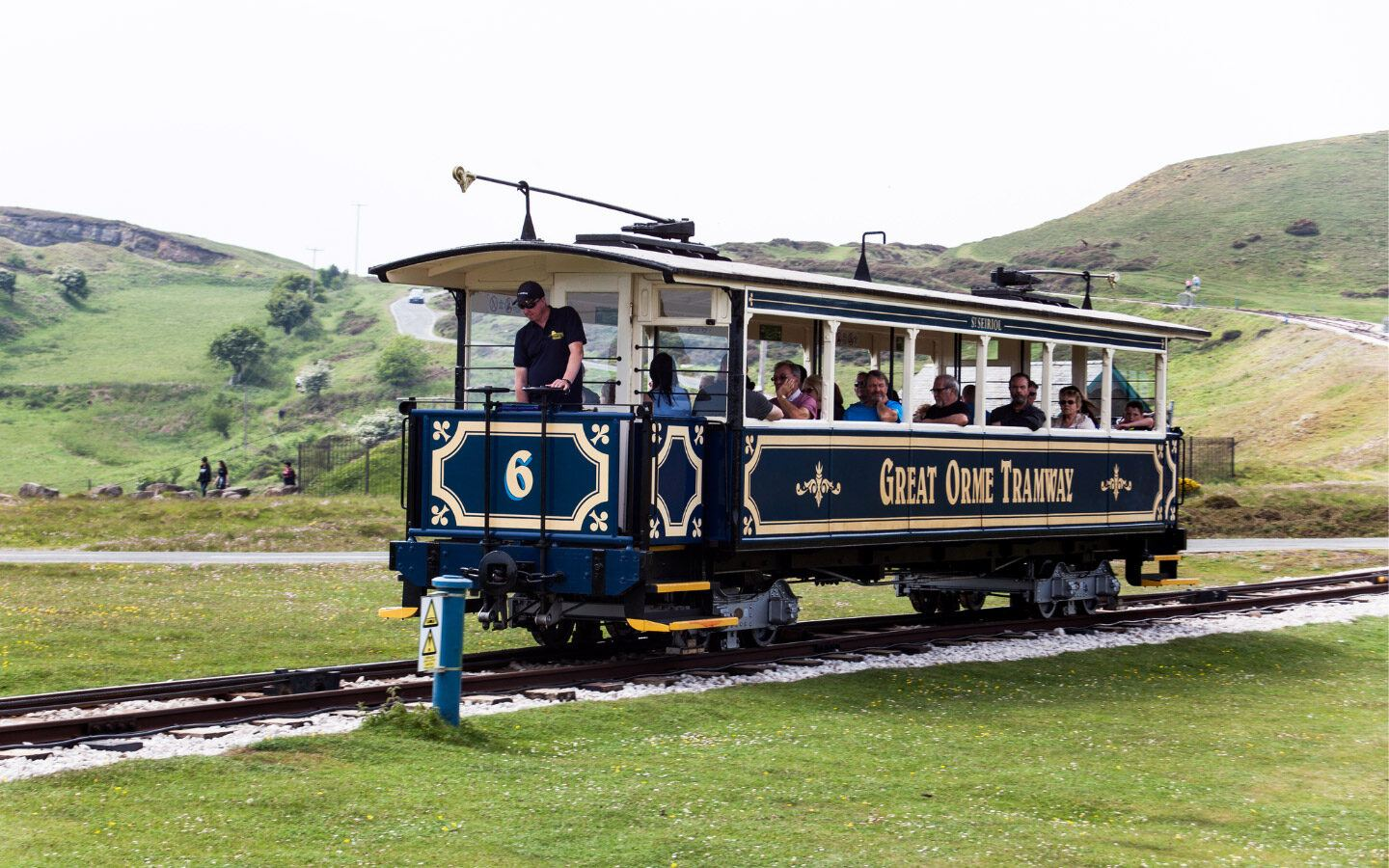 Llandudno's Great Orme Tramway for visiting Wales by train