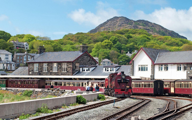 The Ffestiniog Railway on a Wales by train trip
