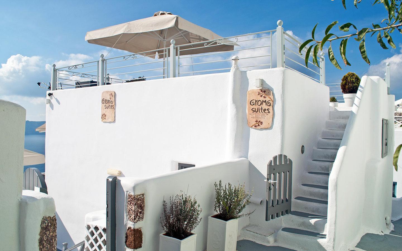 The Aroma Suites hotel in Fira, Santorini