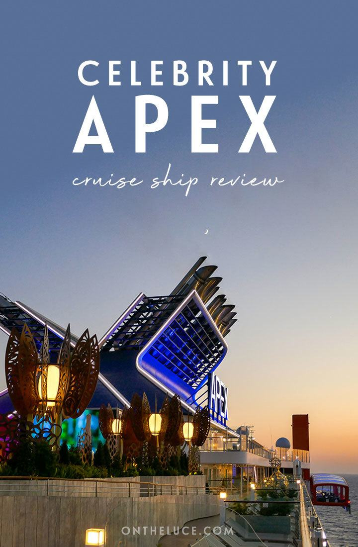 Discover the latest ship in Celebrity Cruises luxurious fleet in this Celebrity Apex cruise ship review, covering facilities, staterooms, food, drink, entertainment and more   Celebrity Apex review   Celebrity Cruises Apex   Cruise ship review