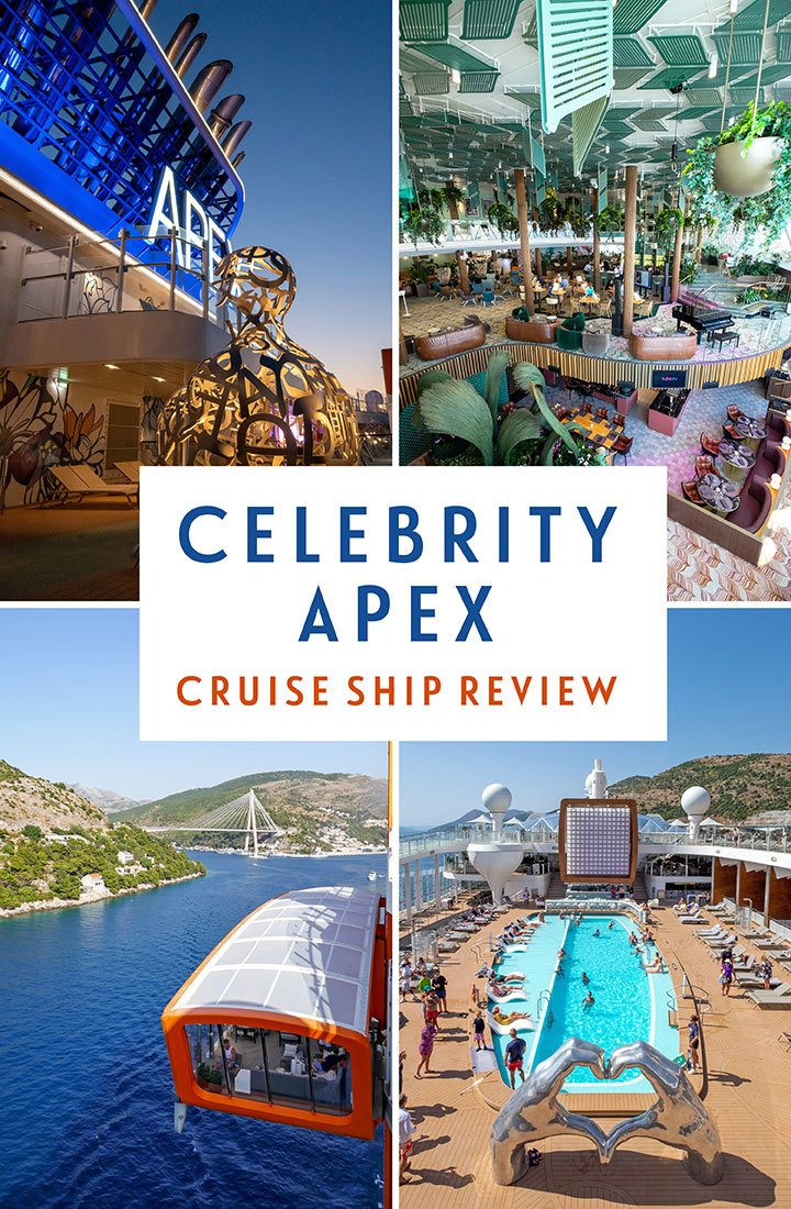 A guide to Celebrity Apex – a review of the latest Edge Class ship in Celebrity Cruises fleet with a Celebrity Apex ship review, covering facilities, staterooms, food, drink, entertainment and more   Celebrity Apex review   Celebrity Cruises Apex   Cruise ship review