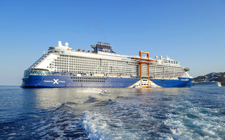 Celebrity Apex cruise ship