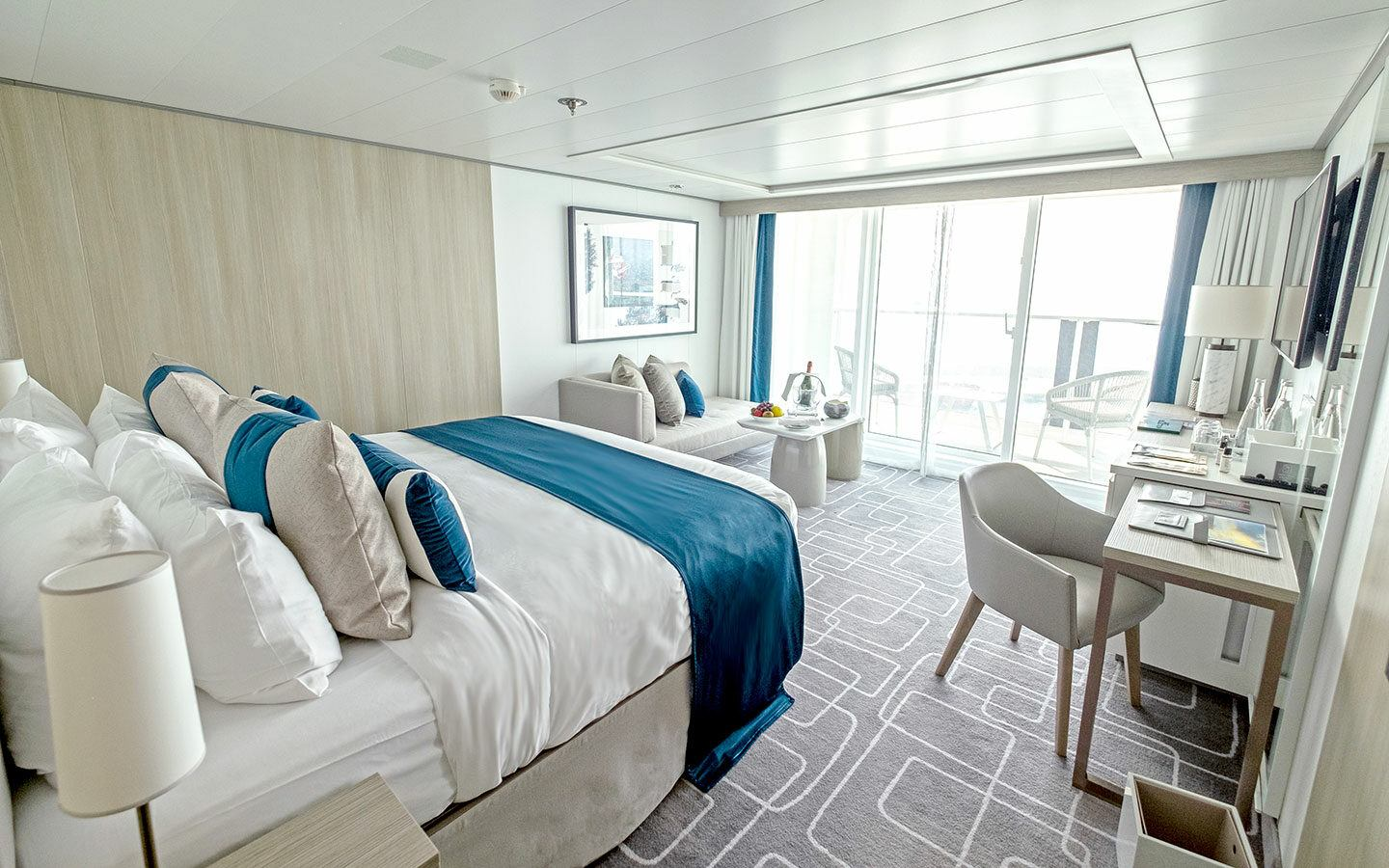 Our Sky Suite stateroom on Celebrity Apex