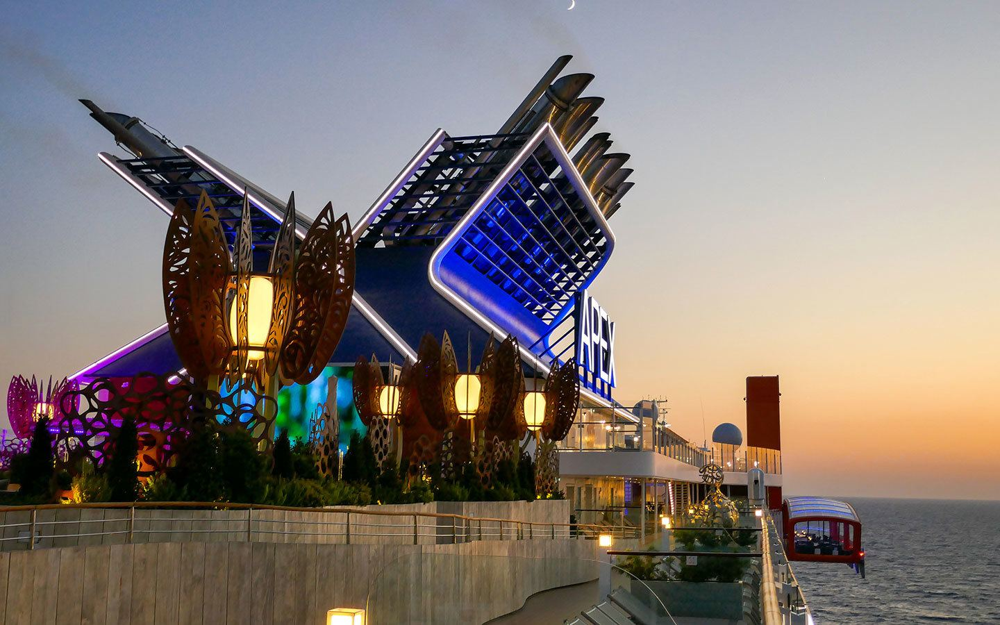 Luxury at sea: Celebrity Apex cruise ship review