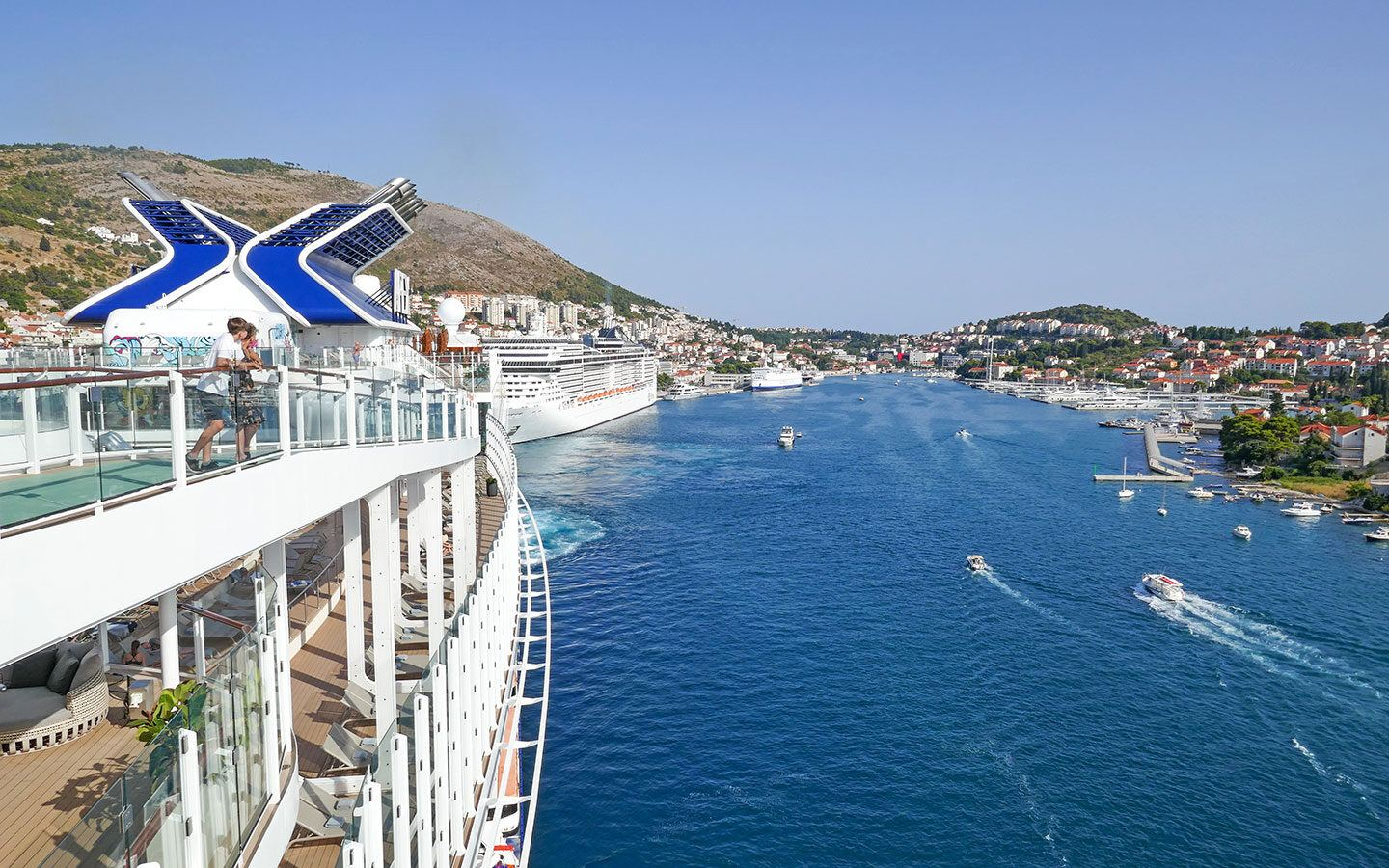 Visiting Dubrovnik on a cruise during the pandemic