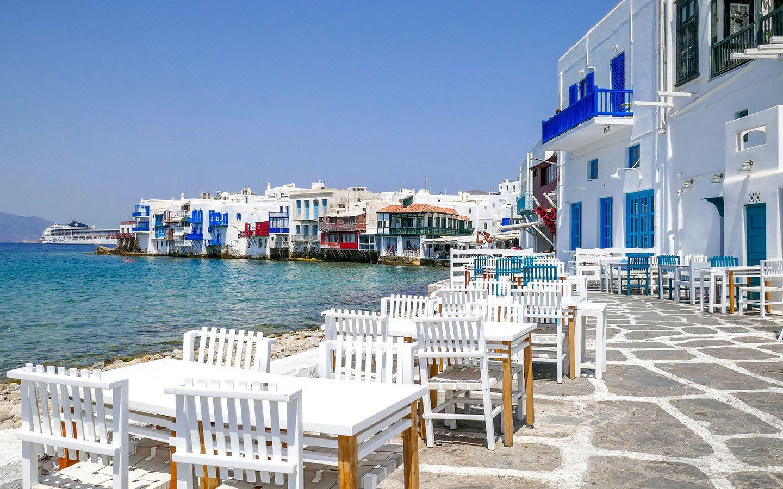 Visiting the Greek island of Mykonos