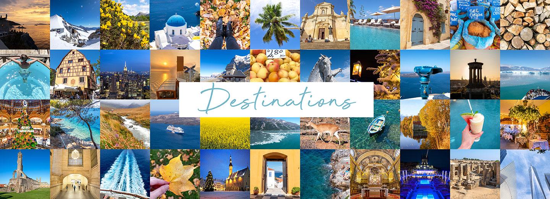 Destinations picture grid